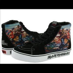 aaa8a5f3c882 Vans Shoes - VANS IRON MAIDEN Sk8-Hi The Trooper High Tops 6.5